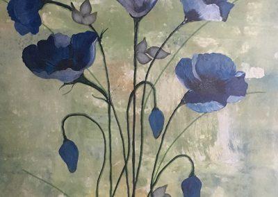 #117 Blue Poppy by Lorraine Stanhope
