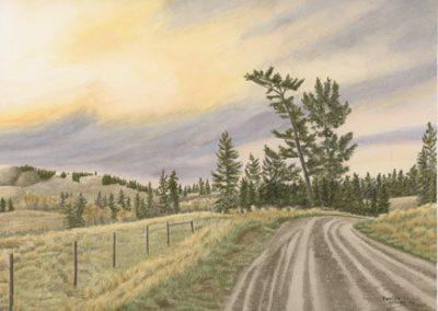 #68 Knutsford Sunset by Patricia Kellogg