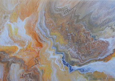 #19 Desert Canyon by Merilee Hamelock