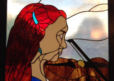 #76 The Violinist by Ray Hellmen