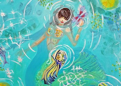 #26 Mystical Mermaid by Nancy Kuchta