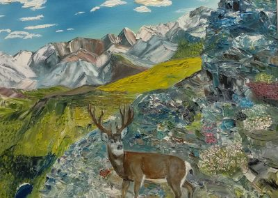 #59 Granite Buck by Fred Seher