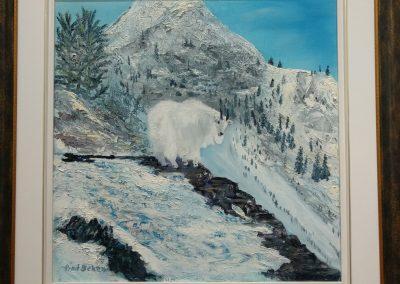 #60 Three Legged Goat by Fred Seher