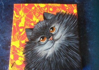 #110 Kitty by Judy Lynn Davison