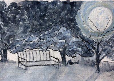 #33 Winter Halo by Mary Boychuk