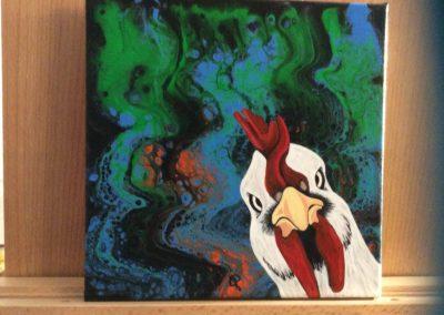 #90 Chickadee by Judy Lynn Davison