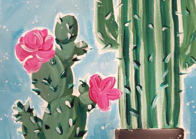 Cacti by Elly Grabner