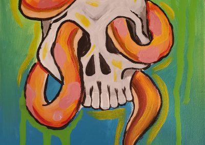 Scurry Snek by Elly Grabner