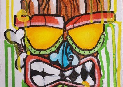 Tiki Man by Elly Grabner