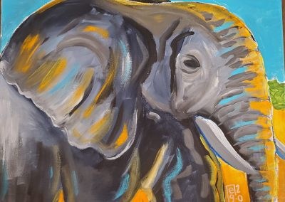 Gentle Giant by Elly Grabner