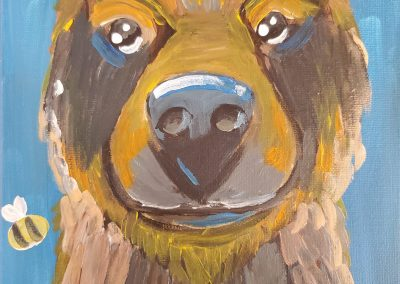Honey Bear by Elly Grabner