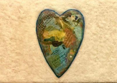 Three Hearts by Gail Clark