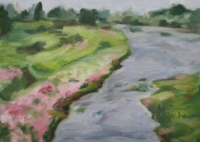 Yorkshire River by Patricia House