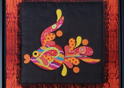 My Funky Fish #3 by Victoria Gray
