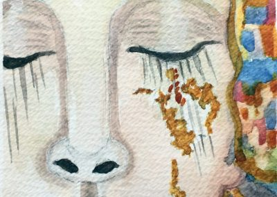 #30 Lady with the Golden Tears by Mary Boychuk